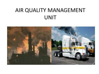 AIR QUALITY MANAGEMENT UNIT