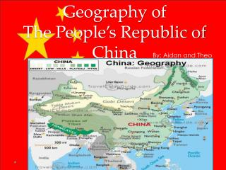 Geography of  The People's Republic of China