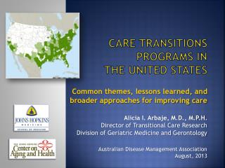 Care transitions programs in  the United States
