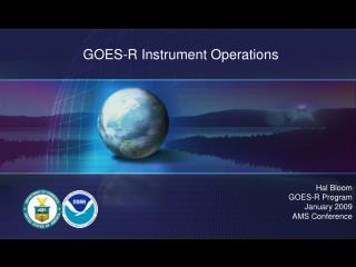 GOES-R Instrument Operations
