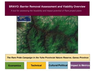 BRAVO: Barrier Removal Assessment and Viability Overview