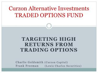 Curzon Alternative Investments TRADED OPTIONS FUND