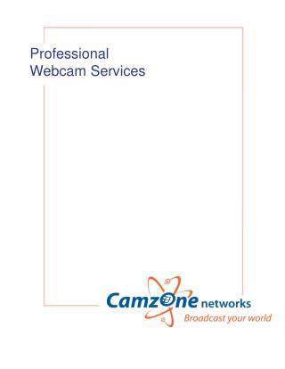 Professional  Webcam  Services