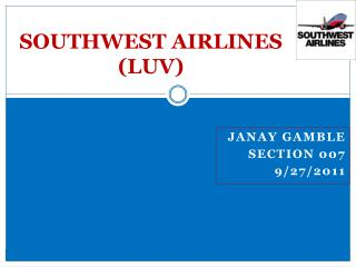 SOUTHWEST AIRLINES (LUV)