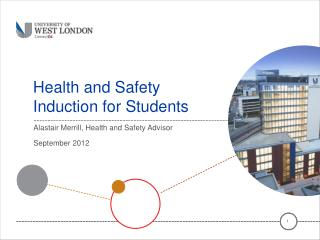 Health and Safety Induction for Students