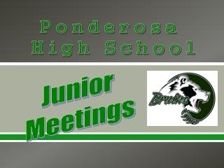 Junior  Meetings