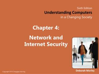 Chapter  4: Network and Internet Security