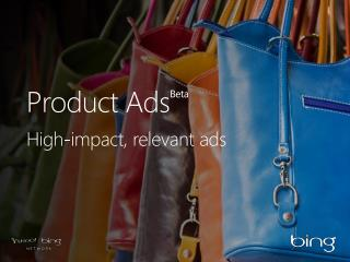 Product  Ads Beta