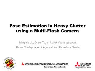 Pose Estimation in Heavy Clutter using a Multi-Flash Camera
