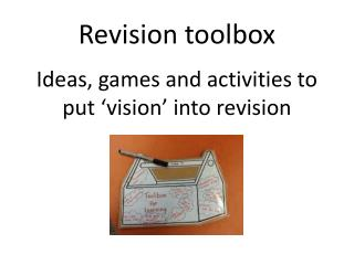 R evision toolbox
