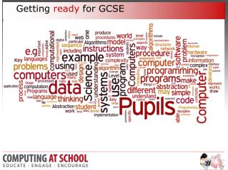 Getting  ready  for GCSE