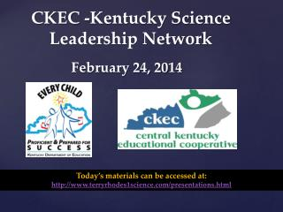 CKEC -Kentucky Science Leadership Network