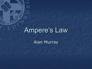 Ampere's Law