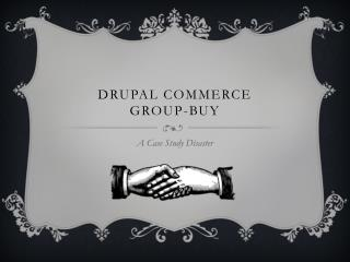 Drupal Commerce Group-Buy