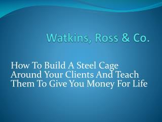Watkins, Ross & Co.