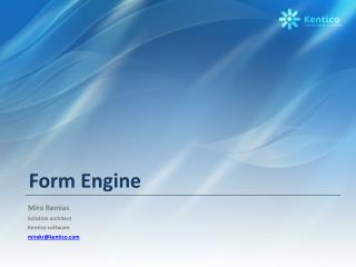 Form Engine