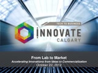 From Lab to Market Accelerating Innovations from Ideas to Commercialization