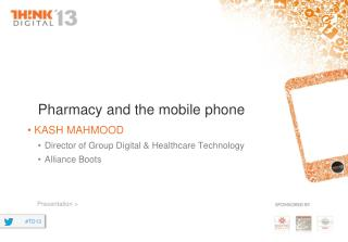 Pharmacy and the mobile phone