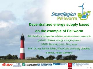 Decentralized energy supply based  on  the example of Pellworm