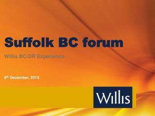Suffolk BC forum