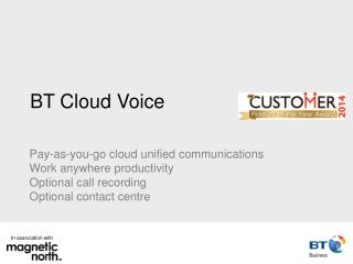 BT Cloud Voice