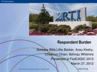 Respondent Burden