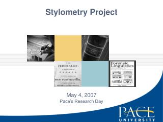 Stylometry Project