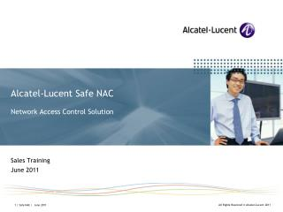 Alcatel-Lucent Safe NAC Network Access Control Solution