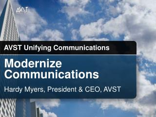 Modernize  Communications