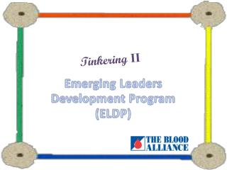 Emerging Leaders Development Program (ELDP)