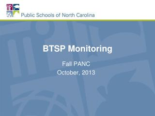 BTSP Monitoring