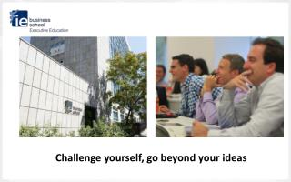 Challenge yourself , go beyond your ideas