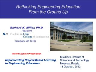 Rethinking Engineering Education From the Ground Up