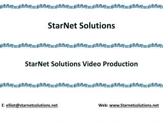 Order your Video Profiles