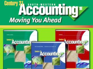 Century 21 Multicolumn Journal Five-column multicolumn journal Special journals in cycle two Century 21 Accounting Gener