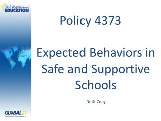 Policy 4373