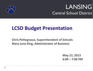 LANSING Central School District