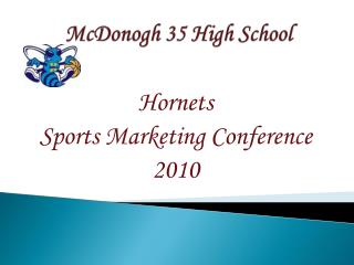 McDonogh 35 High School