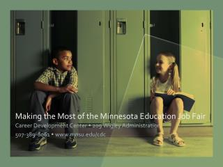 Making the Most of the Minnesota Education Job Fair