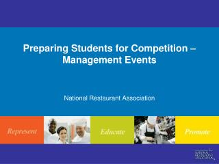 Preparing Students for Competition – Management Events