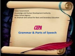 Dubai Government Knowledge and Human Development Authority Dubai School Agency AL Dhahrah Girls School for Basic and Sec