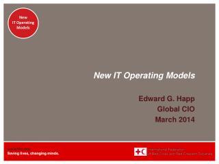 New IT Operating Models