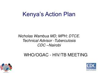 Kenya's Action Plan