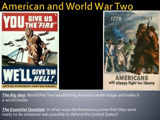 American and World War Two