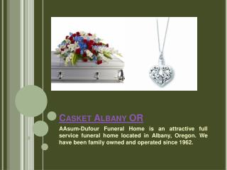 Coffin Albany OR