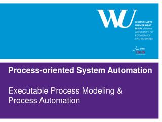 Process-oriented  System  Automation