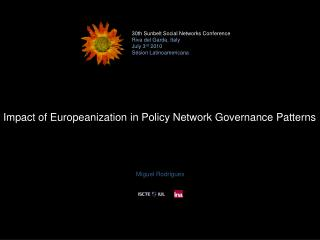Impact of Europeanization in Policy Network Governance Patterns
