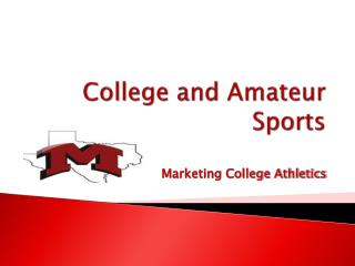 College and Amateur Sports