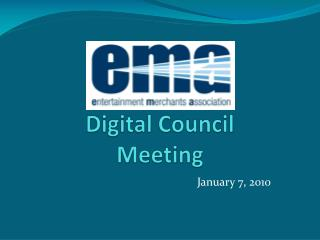 Digital Council Meeting
