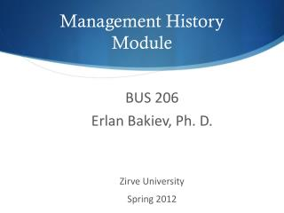 Chapter 2 history of management ppt download.